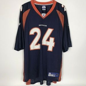 Reebok NFL Equipment Denver Broncos Champ Bailey